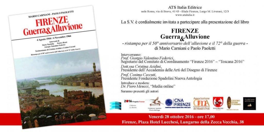 Book cover of Firenze Guerra e alluvione